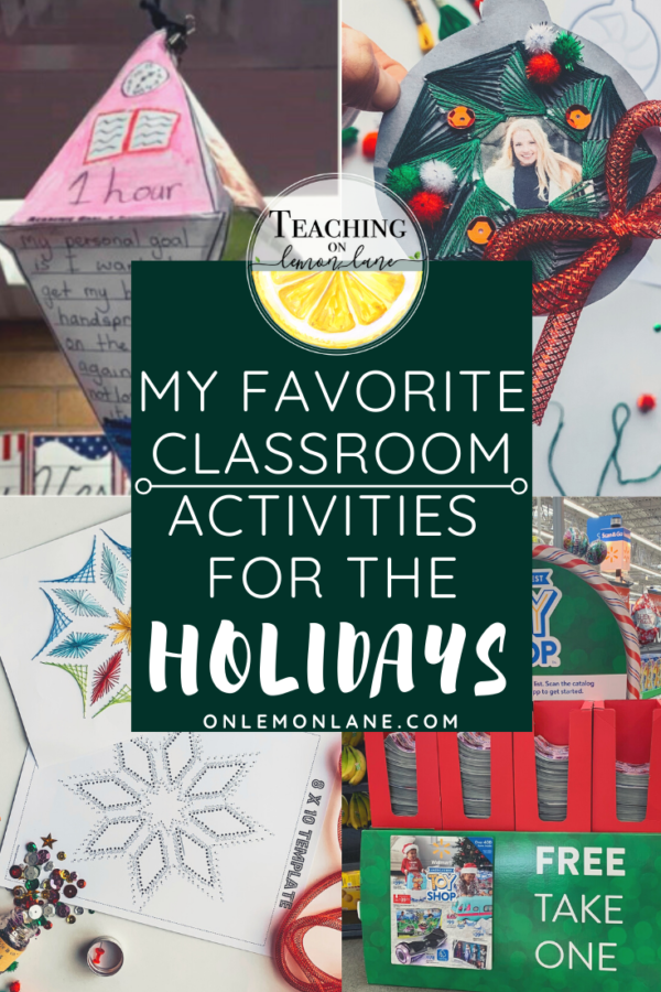 Best Classroom activities for Christmas and the Holidays Steam Steam Ideas Crafts gifts for teachers and parents